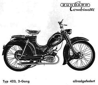 Zündapp Lenker wie original 448-10.101 C 50 Sport Typ 529